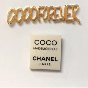 Chanel Brooch Pin Set of two
